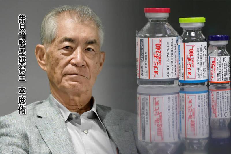 日本京都大學特任教授本庶佑(見圖)與美國免疫學家詹姆士·艾立遜共享2018年諾貝爾醫學獎殊榮,成為第26位獲得諾貝爾獎的日本人,也是第5位獲得諾貝爾醫學獎的日本人。(圖取自路透,本報合成)