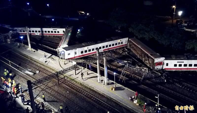 普悠瑪號列車釀18死、288傷,台鐵事後向列車供應商「住友商事株式會社」求償6.1億元。(資料照,記者羅沛德攝)