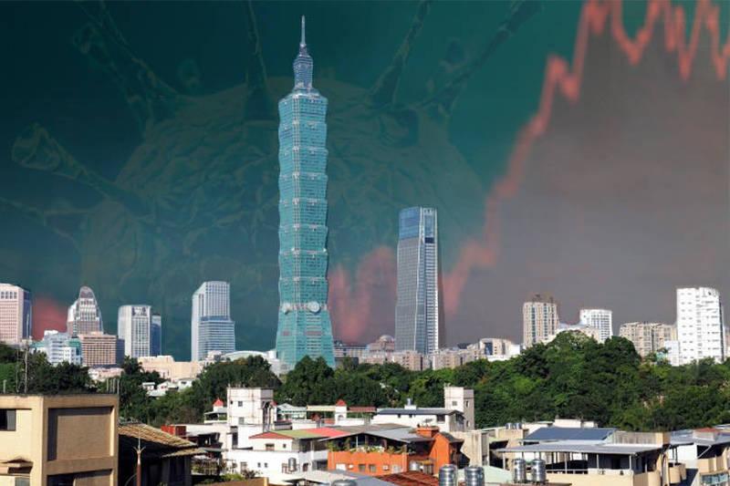 牛津學者研究看出,台灣的經濟、防疫兼顧,皆排名全球第一。(路透、歐新社,本報合成)