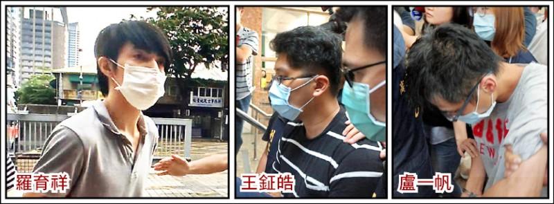性侵狼羅育祥囚禁14歲少女案,友人盧一帆、王鉦皓,涉嫌協助掩護羅拘禁少女被收押禁見。 (資料照)