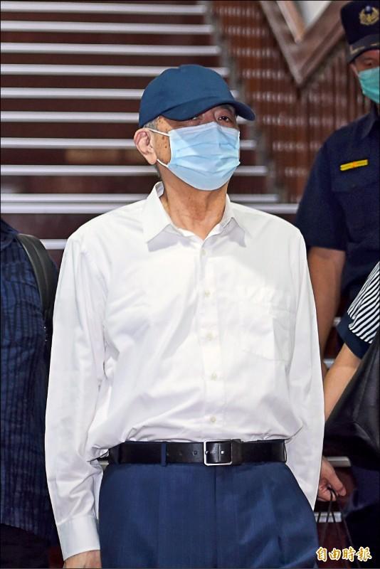 前太流董事長李恆隆(記者劉信德攝)