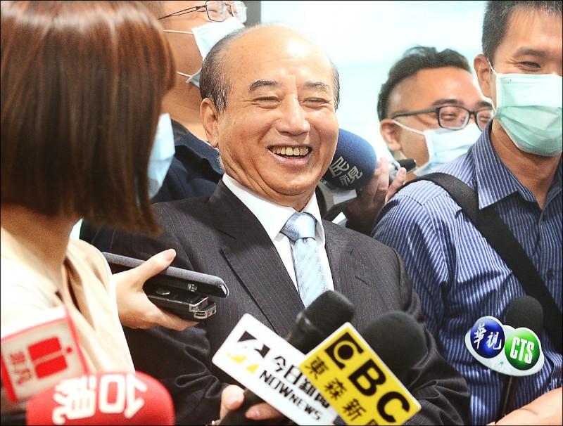 立法院前院長王金平要率團出席海峽論壇,卻因央視「求和說」引起議論。(資料照)