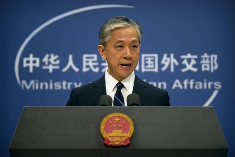 中國外交部發言人汪文斌今(見圖)日不滿表示,中方堅決反對美台官方往來,這一立場是一貫、明確的。(美聯社資料照)