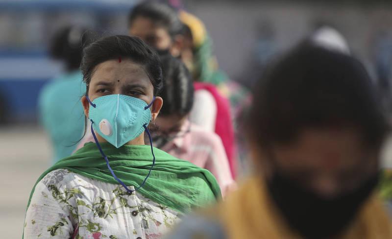 印度武肺疫情持續升溫,確診病例逼近500萬,僅次於美國。(美聯社)