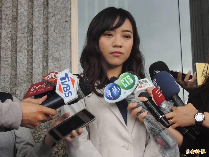 黃捷昨說,高雄已經換了新市長,她也早已跨步向前、放眼未來。(資料照)