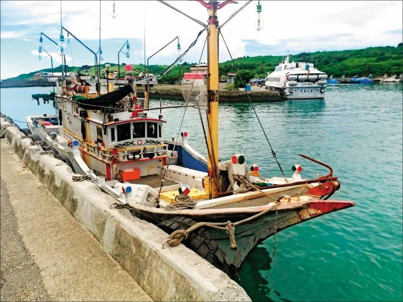 偷渡用漁船(記者蔡宗憲翻攝)