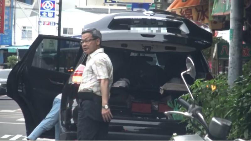 台中市建設局長陳大田(見圖)被控公務車私用。(投訴人提供)