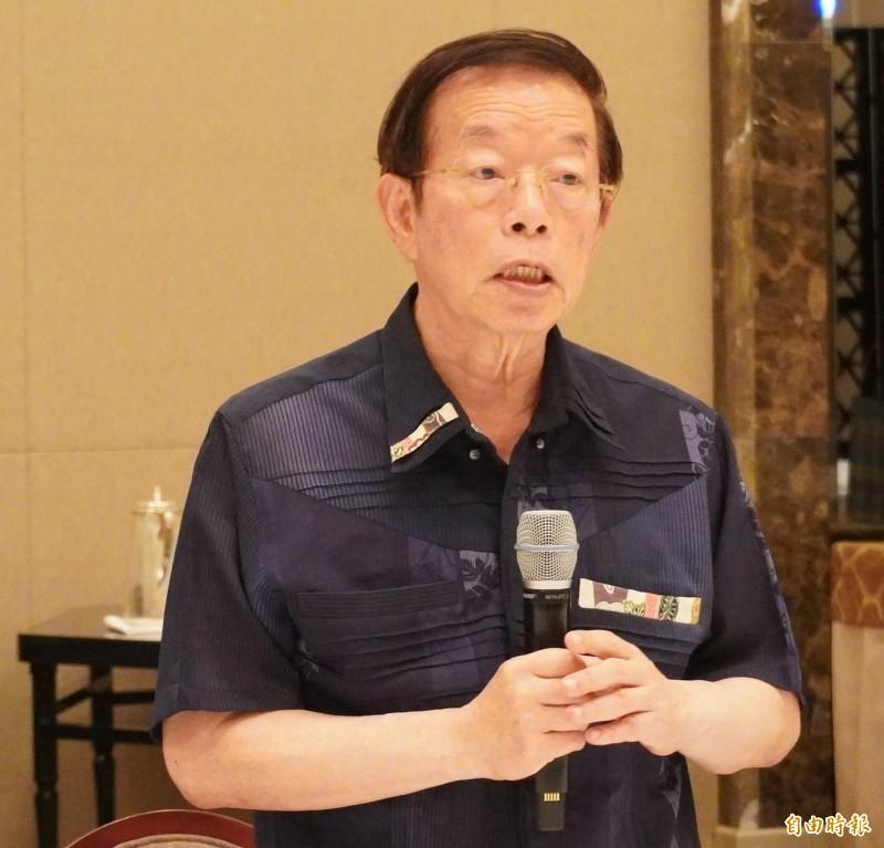 駐日代表謝長廷投書日媒呼籲聯合國不應把台灣排除在外。(記者林翠儀攝)