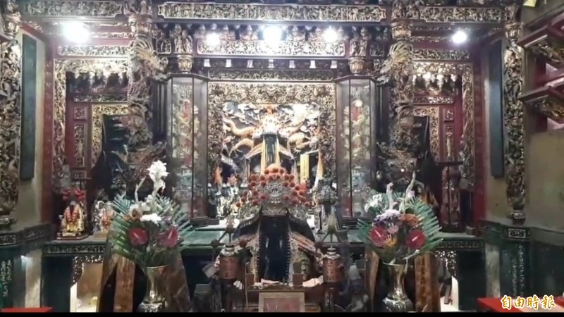 台南府城普濟殿創建於1668年,迄今已300餘年歷史,經文化部國家資料庫記載為臺灣最早的王爺廟。 (記者王姝琇攝)