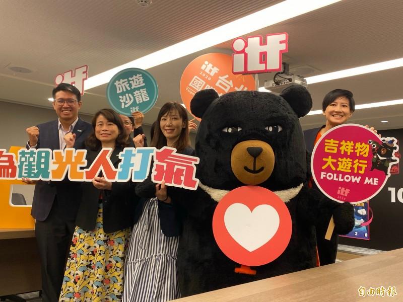 號稱全台最大的台北國際旅展今年不畏疫情衝擊按原定計畫,預計10月30日起一連4天在南港展覽館登場。(記者蕭玗欣攝)