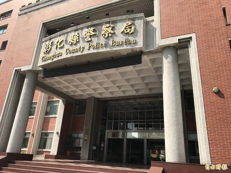 彰化縣警局今天發布12名警官人事異動,名單中最令人矚目的是陞任督察科督察員的陳雅玲,讓男性警官笑稱是「萬綠叢中一點紅」。(記者湯世名攝)