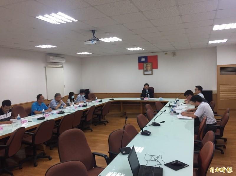 雲林地檢察署舉辦跨單位專案會議。(記者詹士弘攝)