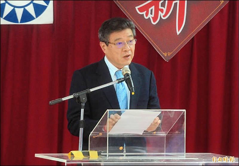國民黨前代理主席林榮德,昨稱因事業繁忙及配合國民黨政策,不去海峽論壇了。(資料照)