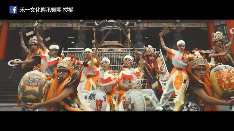 街舞文化跟台灣宮廟文化結合,創新的舞蹈超吸睛!(粉專禾一文化傳承舞團 授權)