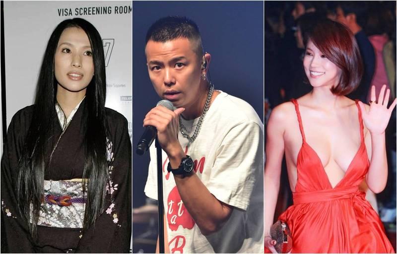 小鬼(中)今日中午驚傳驟逝,網友發現日本女星蘆名星(左)、南韓女星吳仁惠(右)也相繼在14、15日驟逝,3人過世時均享年36歲。(資料照合成圖)