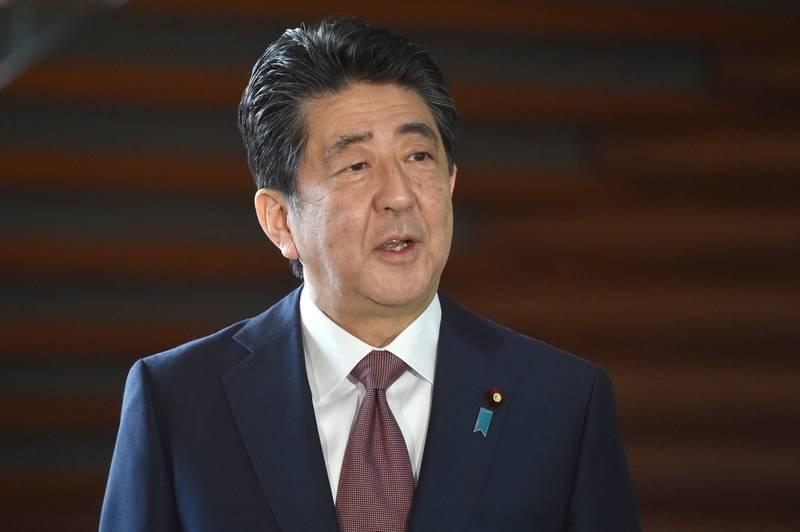安倍晉三卸任總理後,學者認為可望扮演日本「外交活棋」。(法新社)