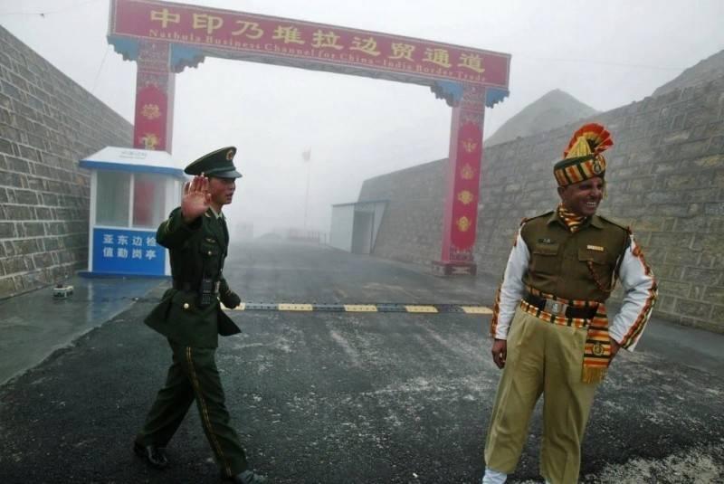 中國與印度在邊境衝突不斷。(法新社)