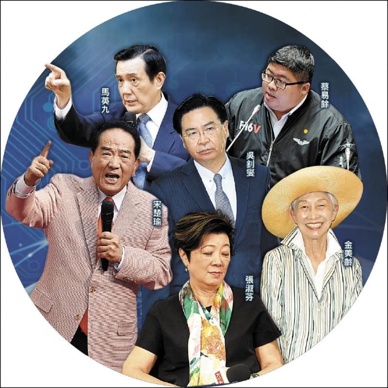 台灣政商藝界遭中國情蒐數據監控。(資料照)