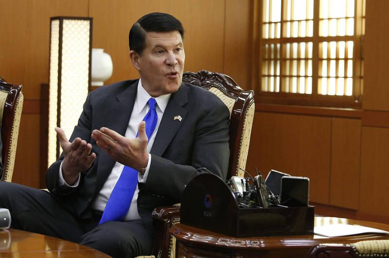 美國務院次卿柯拉克(見圖)今(17)日率團訪台。(美聯社)