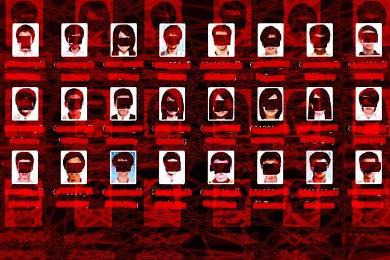 中國駭客入侵台灣一所大學數據庫,竊取受保護電腦中的6萬7000多張的照片與姓名個資。(圖擷取自美國司法部,本報合成)