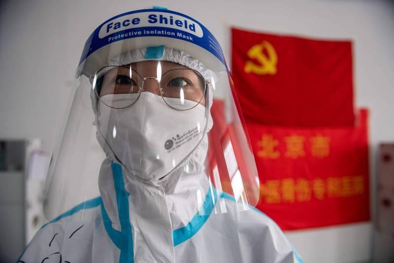 中國官方宣布,即將著手研發一種「真正能」對所有冠狀病毒進行早期監測的方法。(法新社檔案照)