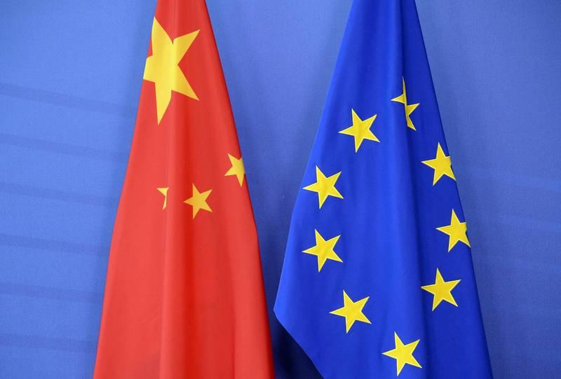 謝志偉在臉書表示,有越來越多的歐盟成員思考放棄「一中」政策,改擬「台灣政策」的可能性。(法新社檔案照)