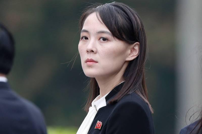 南韓智庫有研究員認為,雖然第3次川金會不太可能在這個時機舉行,但北韓領導人金正恩胞妹、北韓實質二把手金與正(見圖)可能在今年10月訪問美國。(法新社)