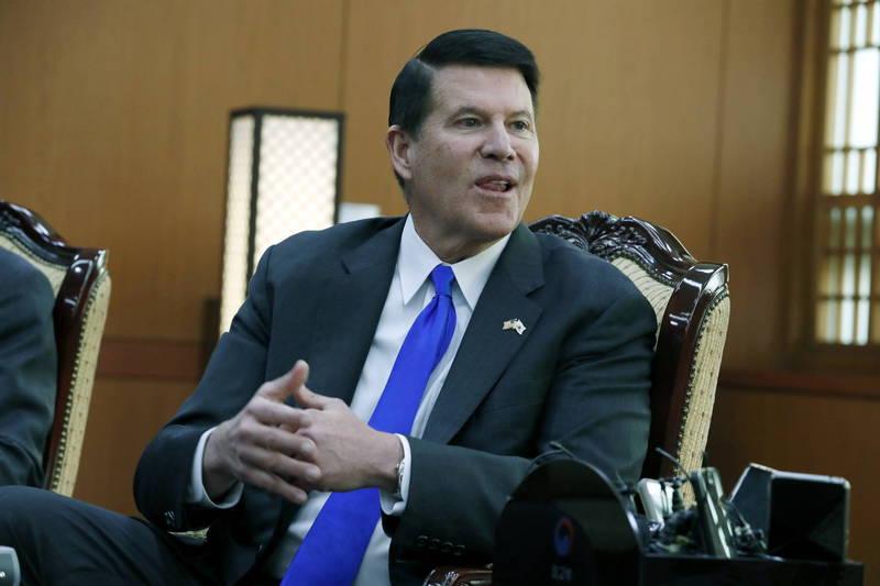 美國國務院次卿柯拉克(Keith Krach)17日至19日率團訪台。(歐新社資料照)
