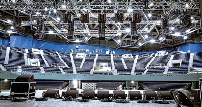 高流最大室內表演場館「海音館」,有全台首屈一指、造價1億多元的3D沉浸式音響,將帶來聽覺的震撼。(高雄流行音樂中心提供)