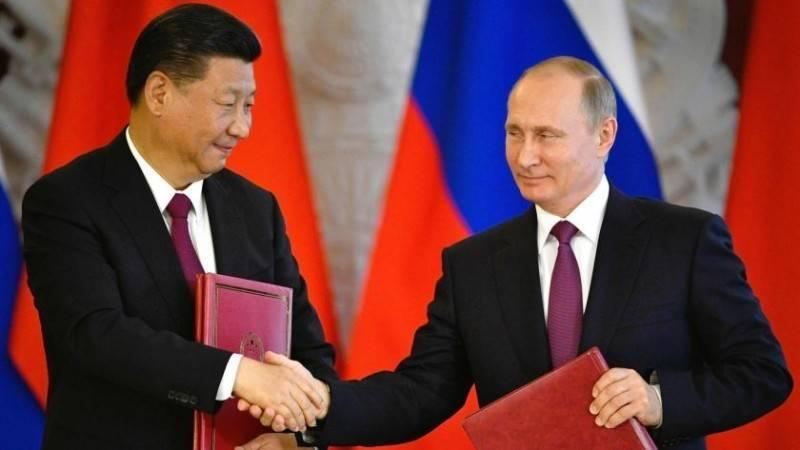 中俄關係達過去半世紀多以來最高點。(法新社)