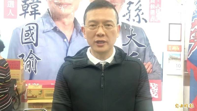 外傳韓國瑜有意參選桃園市長,不過資深媒體人韋安大膽預測,將由韓的「子弟兵」孫大千出來參選。(資料照)