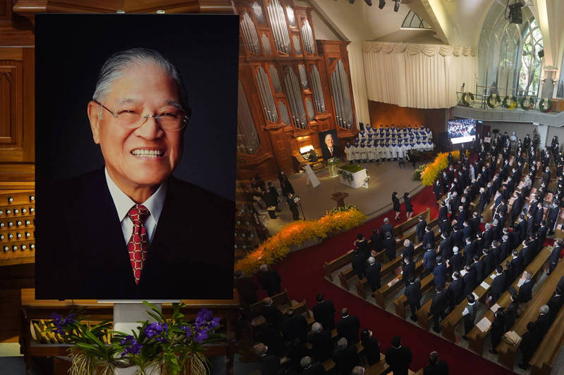 「台灣交給你們了」民主先生將長眠五指山(圖輯)