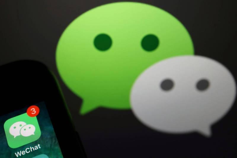 WeChat將於20日起在美下架。(路透)