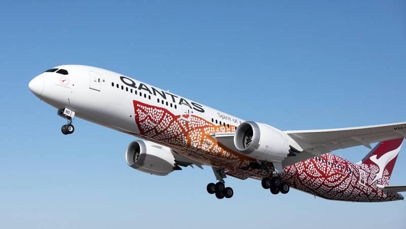 澳航推出「偽出國」行程,旅客有7小時將在飛機上度過。(歐新社檔案照)