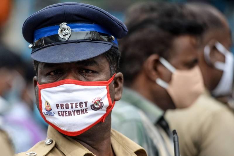印度的武漢肺炎疫情加速惡化,今日突破540萬例,總理莫迪下周可能會與7個地方首長開會,討論如何應對疫情。(法新社)