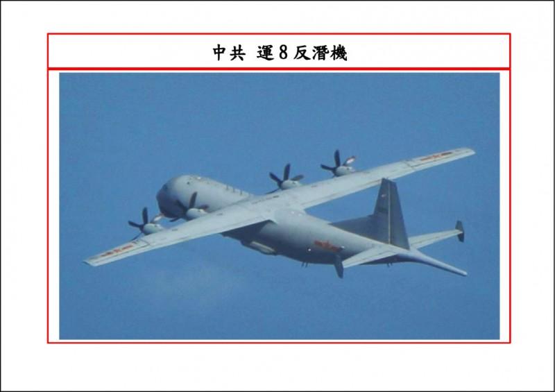 國防部公布擾台共機軌跡及機型。(記者蔡宗憲翻攝)