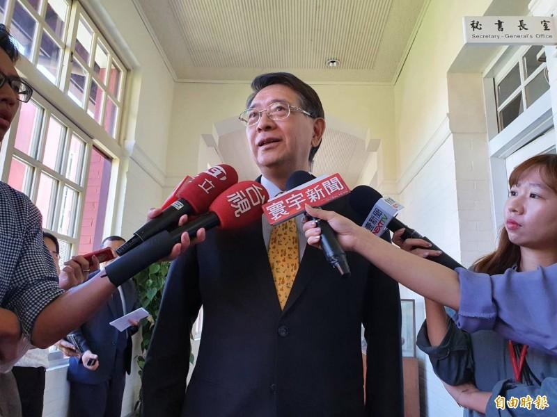 立院秘書長林志嘉。(記者謝君臨攝)