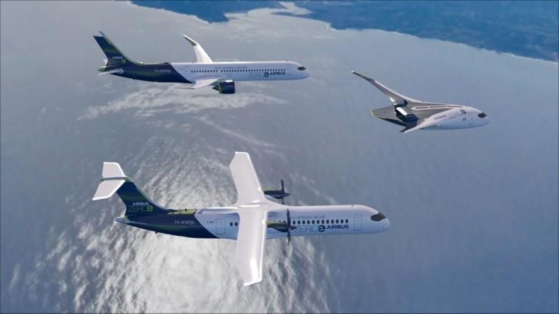 空中巴士擬推「零碳排」客機 力拚2035問世