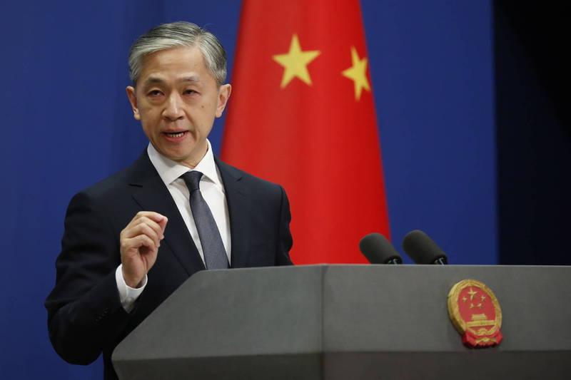 汪文斌(見圖)指出,美派高觀訪問台灣,此舉無疑是對中方的政治挑釁,中方必定祭出反制,而責任全在美方。(歐新社檔案照)