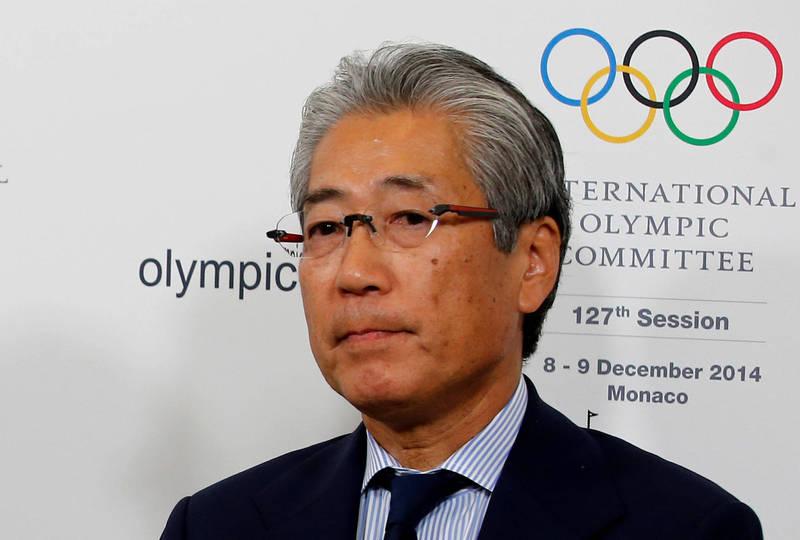 東京奧運申辦委員疑似透過白手套將約37萬美金(約1072萬新台幣)的賄款,交給了當時為國際奧委會委員迪亞克之子帕帕·馬薩塔·迪亞克的公司與帳戶;圖為遭起訴調查的日本奧委會前主席竹田恆和。(路透)