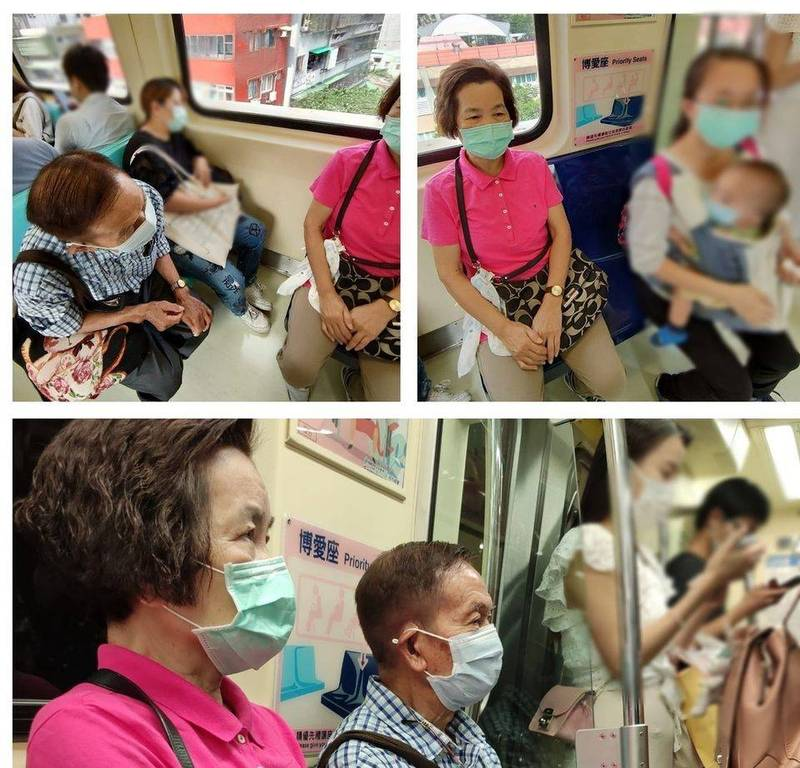 網友讚爆!90歲長者坐博愛座 見年輕媽揹嬰兒秒讓位