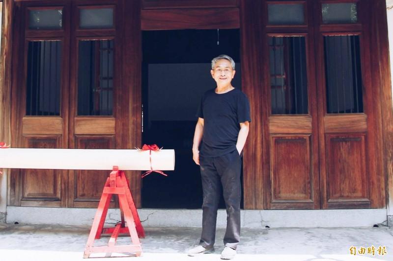 雲門舞集創辦人林懷民的老家林開泰舊宅將動工修復。(記者林宜樟攝)