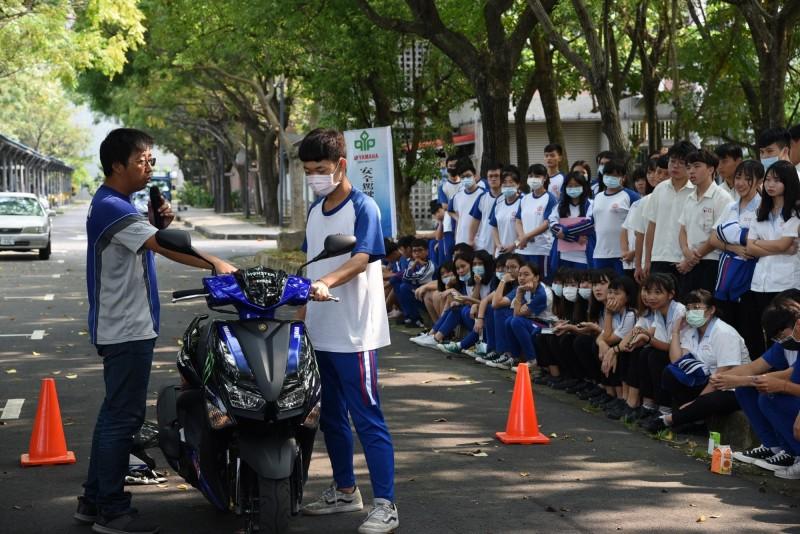 南投少年無照騎機車年死傷230人縣府校園宣導安全駕駛 社會 自由時報電子報