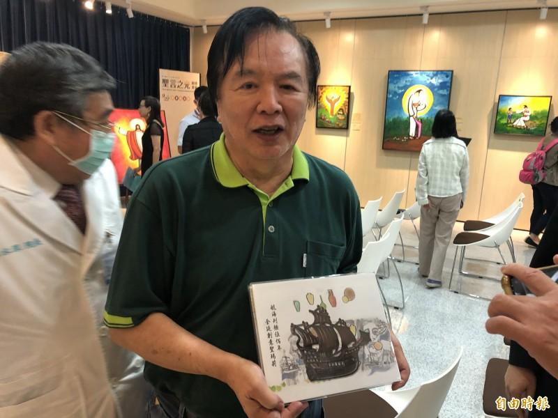 林志玲父親林繁男表示,林志玲個性很獨立,這次女兒住院他也是看新聞才知道。(記者周湘芸攝)