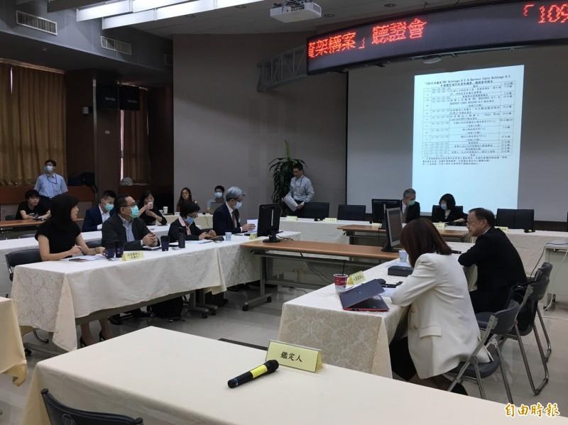 國家通訊傳播委員會(NCC)今天針對台灣寬頻通訊(TBC)股權交易召開聽證會。(記者楊綿傑攝)