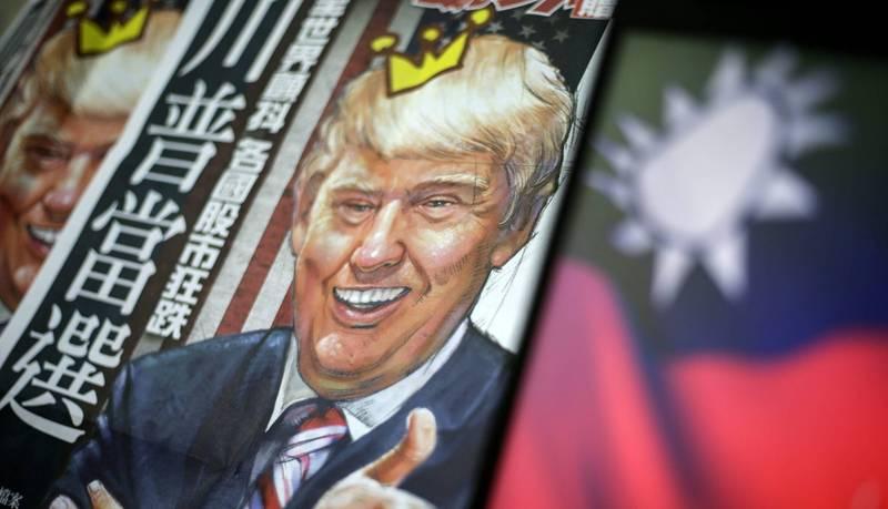 中國旅美政論作家陳破空撰文指出,在中國拒絕重塑美中關係之際,美台關係步步高升,可能會如川普(見圖)出人意料地開創巴爾幹半島和中東的和平新局一樣,以「美台建交」顛覆41年的美台中格局。(歐新社資料照)