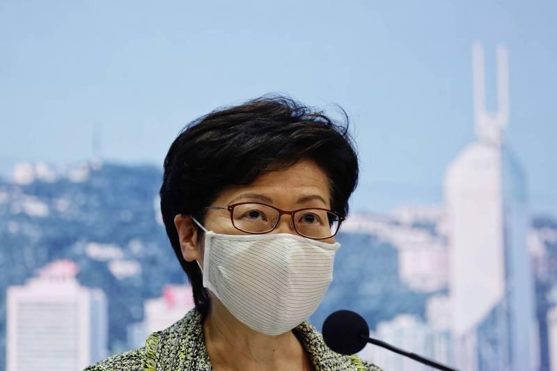 陳同佳回台自首一案 林鄭:看不出政府出面有什麼好處