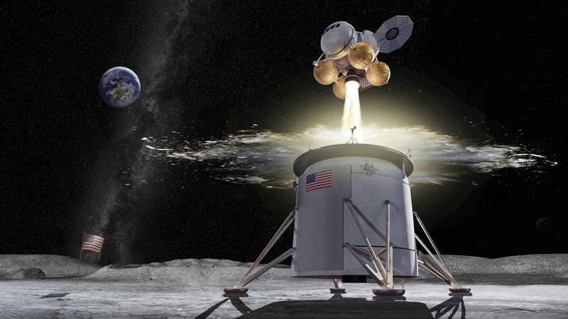 NASA日前公布「阿提米絲計劃」最新內容,2024年要送一男一女,2名太空人登陸月球,並待上一週時間。(美聯社)
