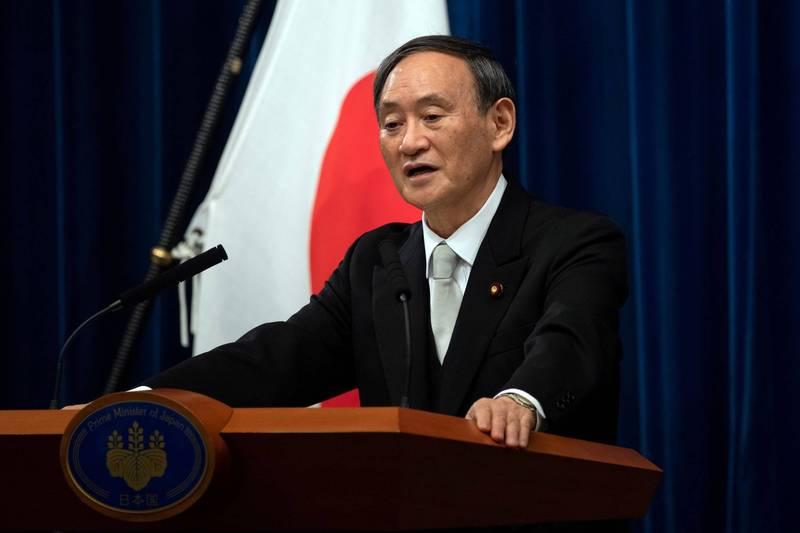 日本政府在今天首次召開「數位改革內閣會議」,首相菅義偉(見圖)在會中強調要加速成立「數位廳」,並在下屆國會會期提交《IT基本法》草案。(路透)