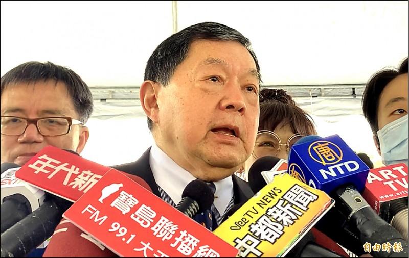 遠東集團董事長徐旭東昨表示,自己與立委涉賄案無關,也不認識徐永明。(記者蔡淑媛攝)
